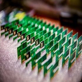 Image of microchips