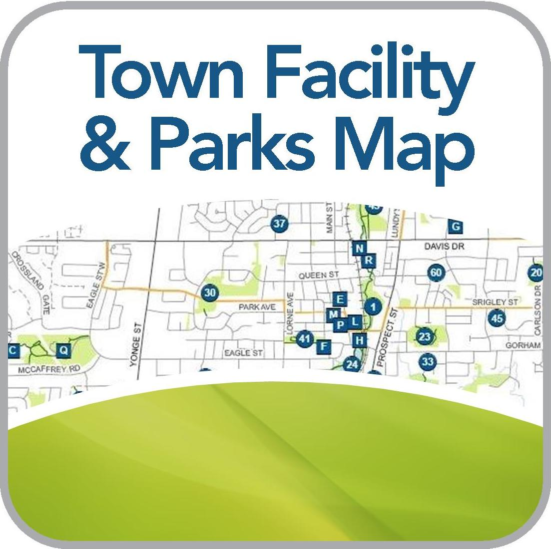 Map of Town Facilities, Parks, and Trails