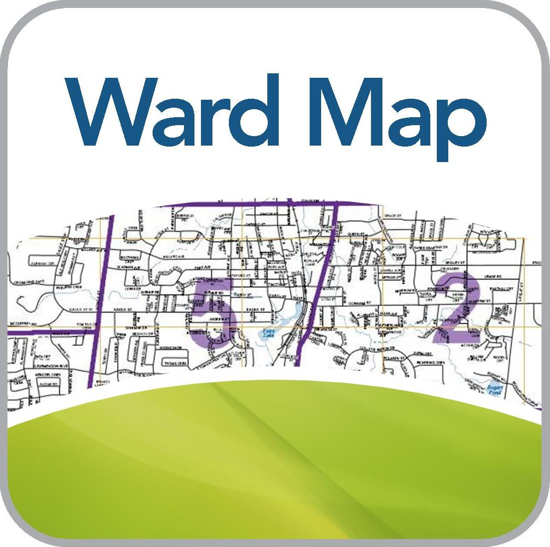 Map of Wards