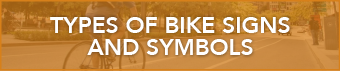 Webpage button that reads types of bike signs and symbols