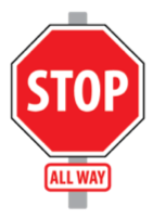 Image of red stop sign