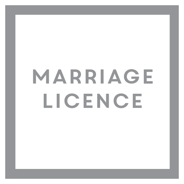 click here for information about wedding licence