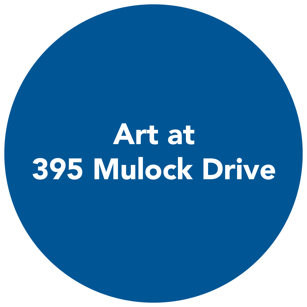 button redirects to art at 395 mulock drive page