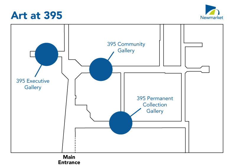 map of 395 mulock drive gallery locations