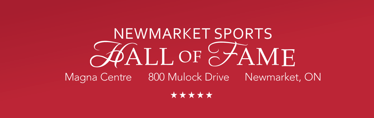 Newmarket Sports Hall of Fame Banner