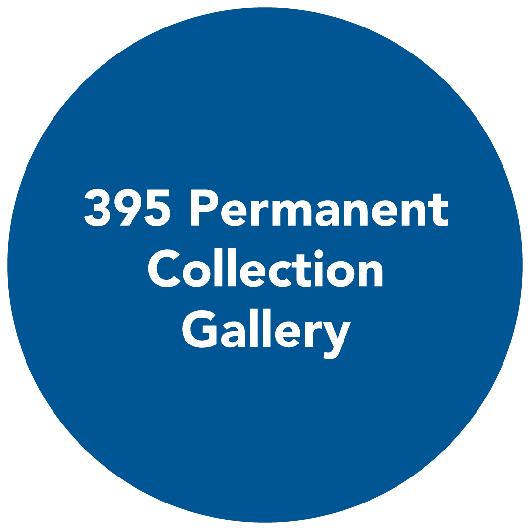 button redirects to 395 permanent collection gallery page