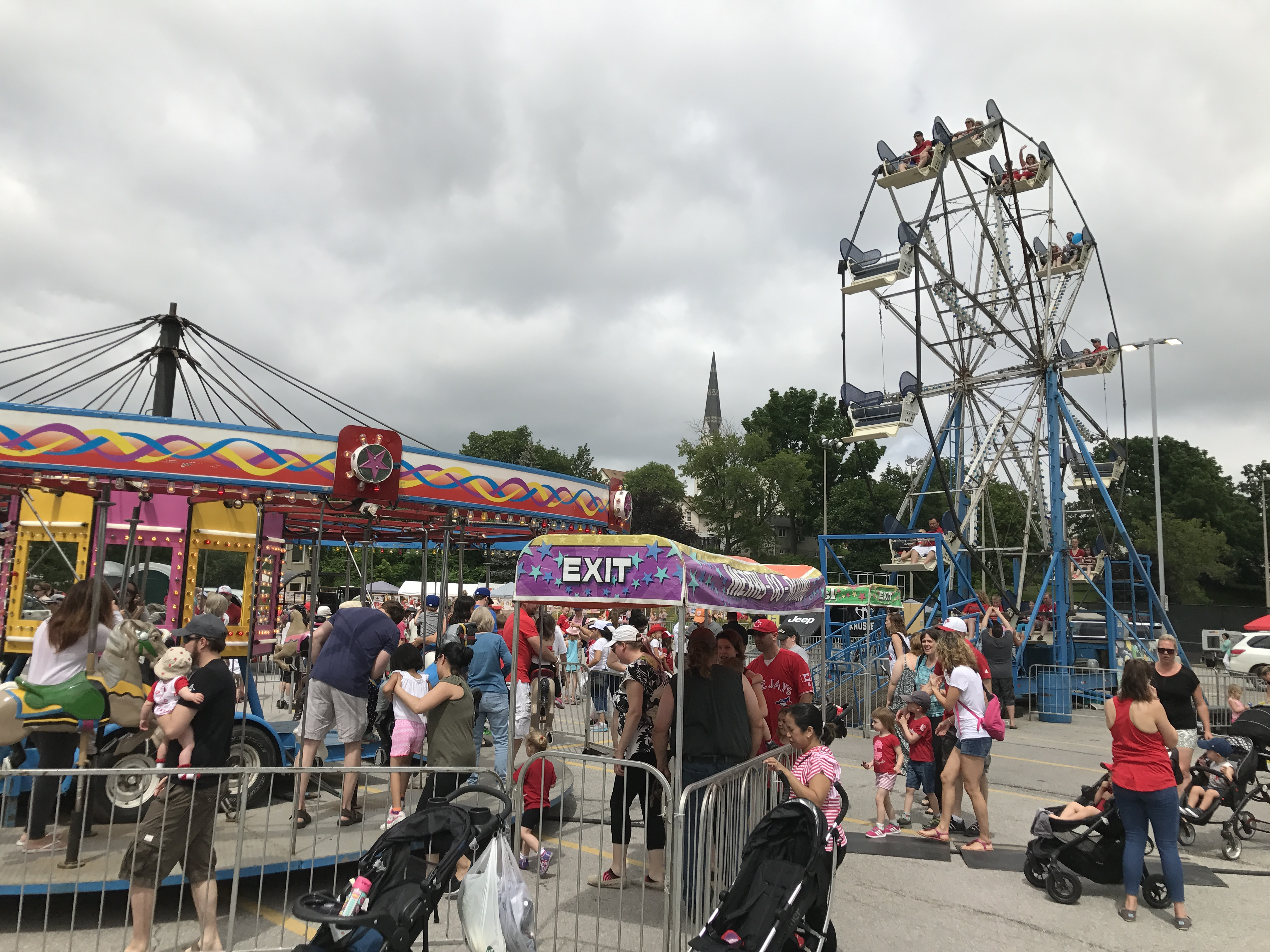 image of people enjoying the canada 150 fair
