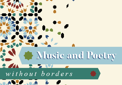 Music and Poetry without Borders Button