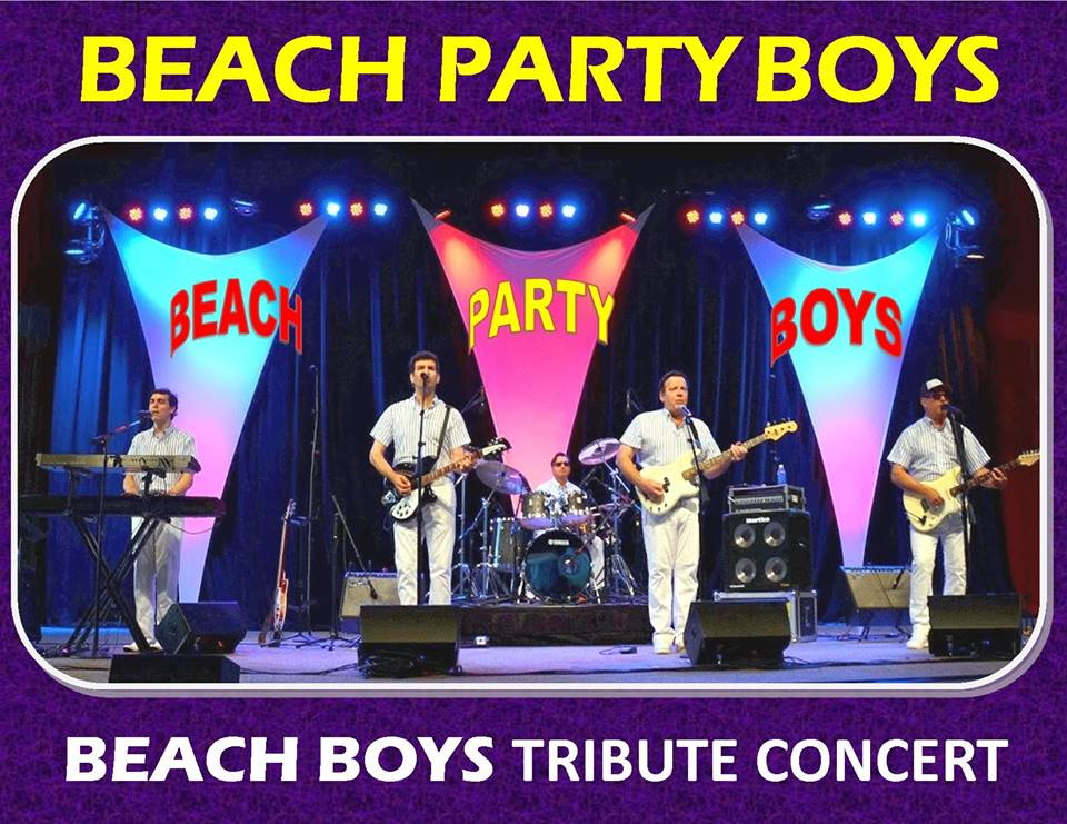 image of the beach party boys, a beach boys tribute concert