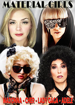 image of Material Girls - A tribute to Madonna, Cher, Lady Gaga and Adele