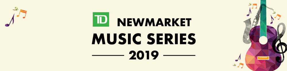 image that reads TD Music Series 2019