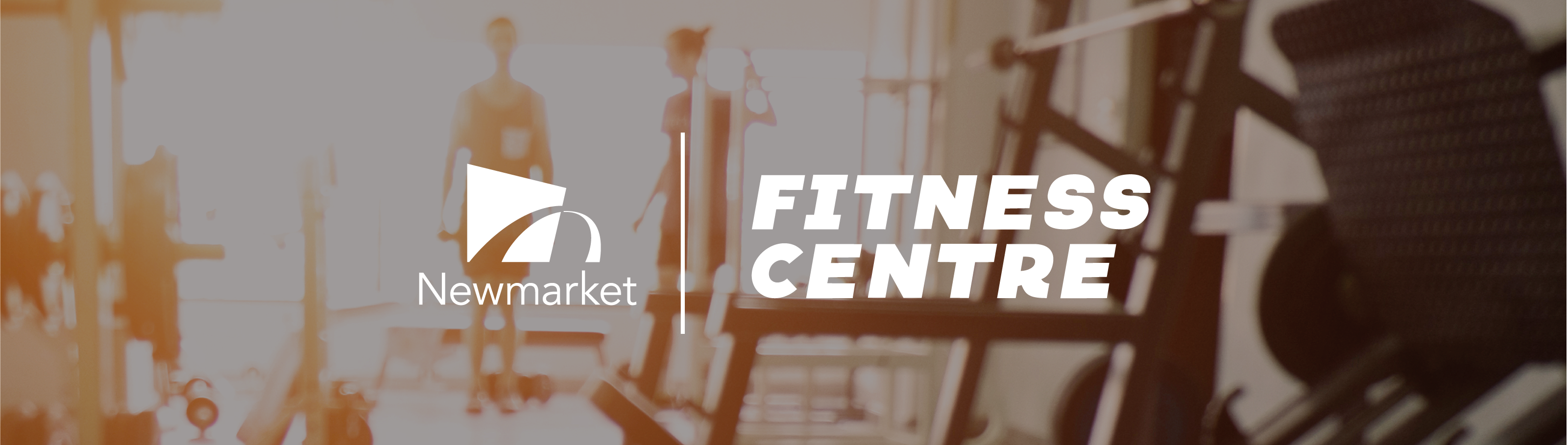 image of people using fitness centre with text that reads fitness centre