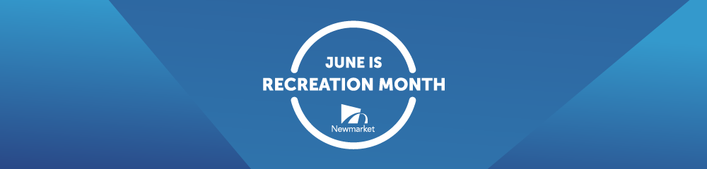 image that reads june is recreation month