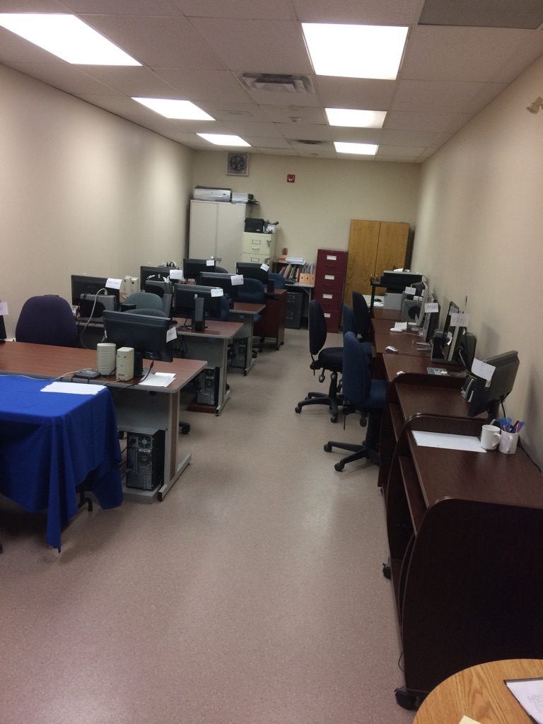 image of the computer room
