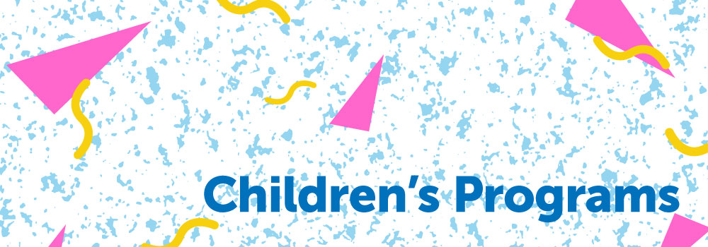 childrens programs banner