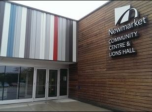 newmarket community centre and lions hall enterance