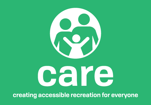 creating accessible recreation for everyone (care) logo