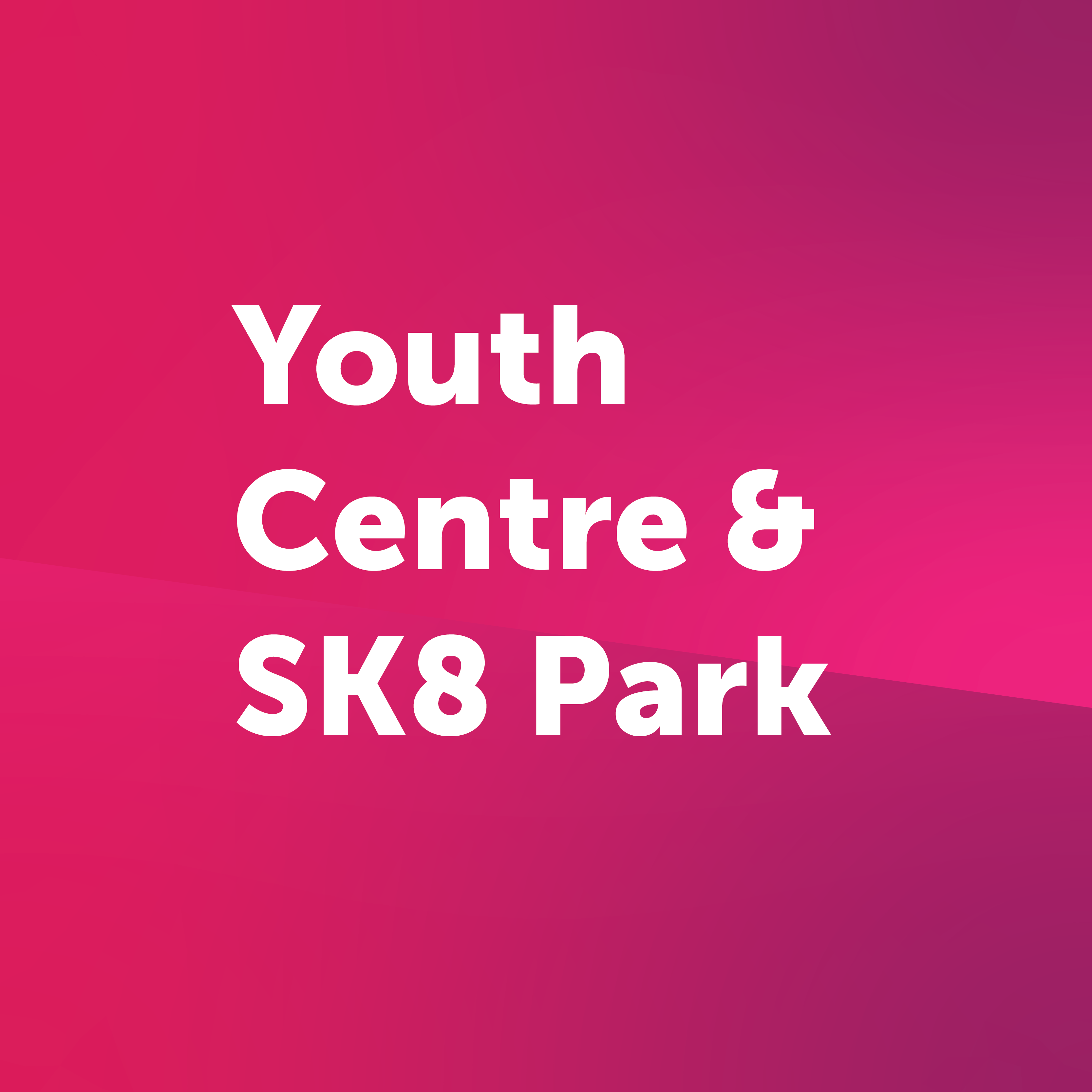youth centre and skatepark button