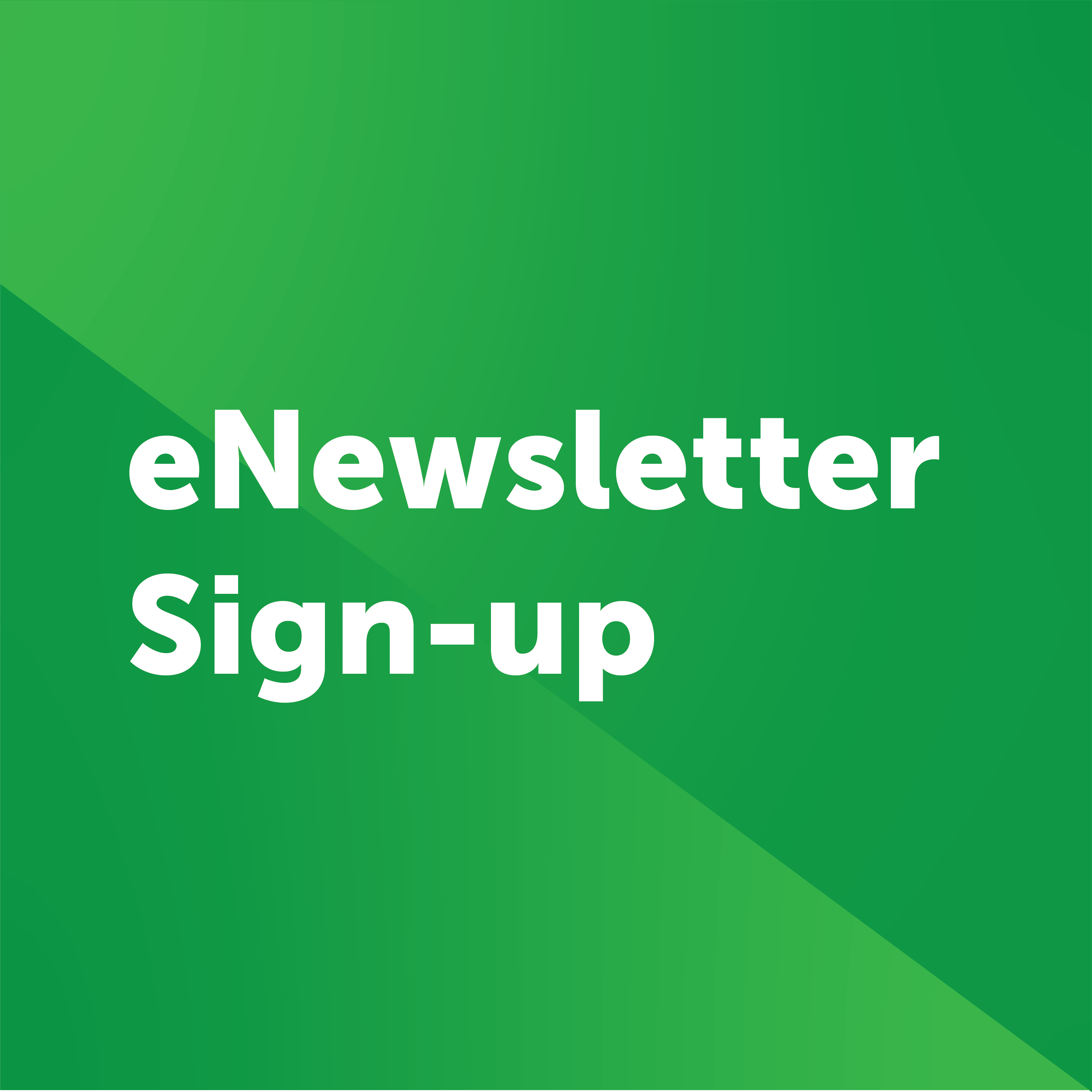 enewsletter sign up button