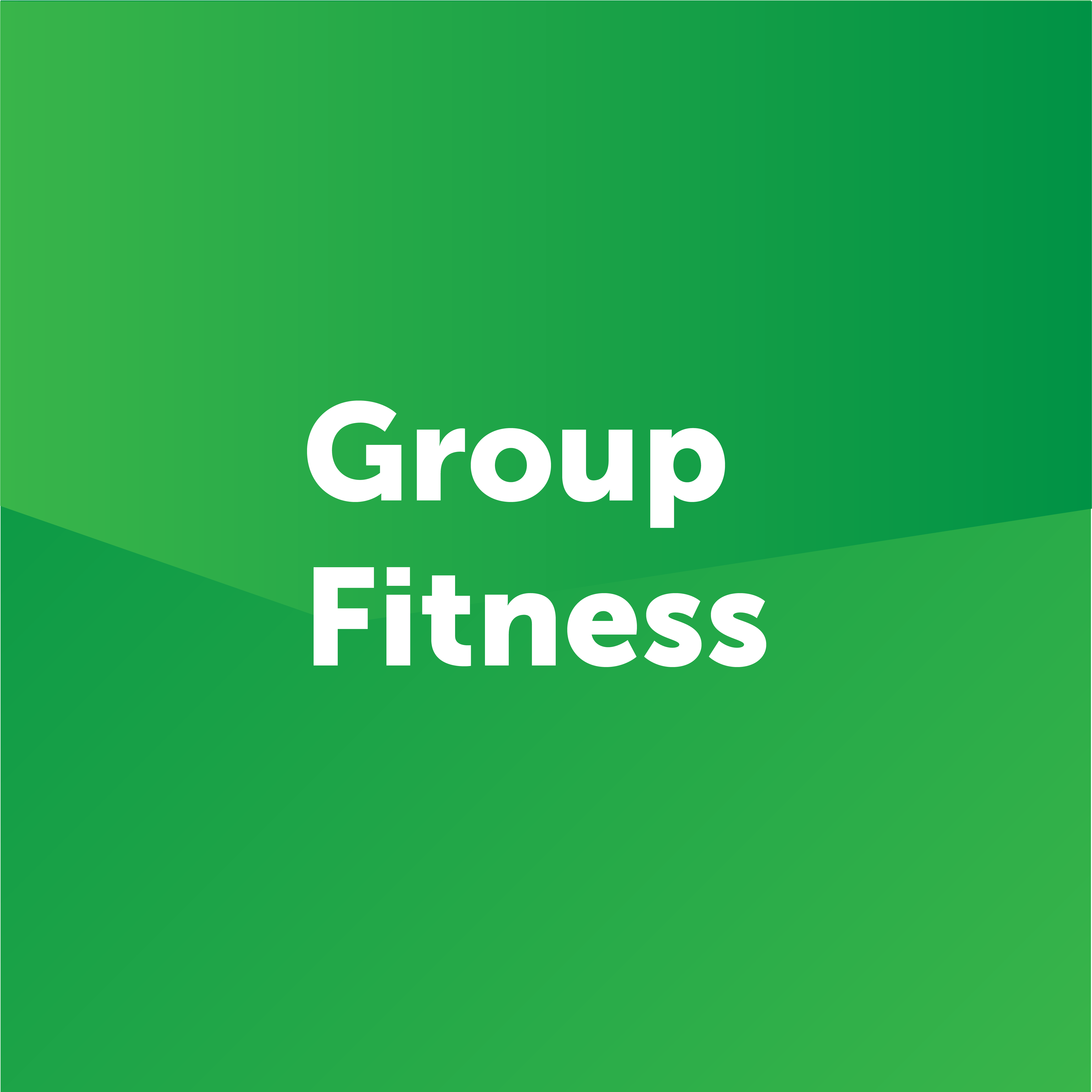 group fitness button