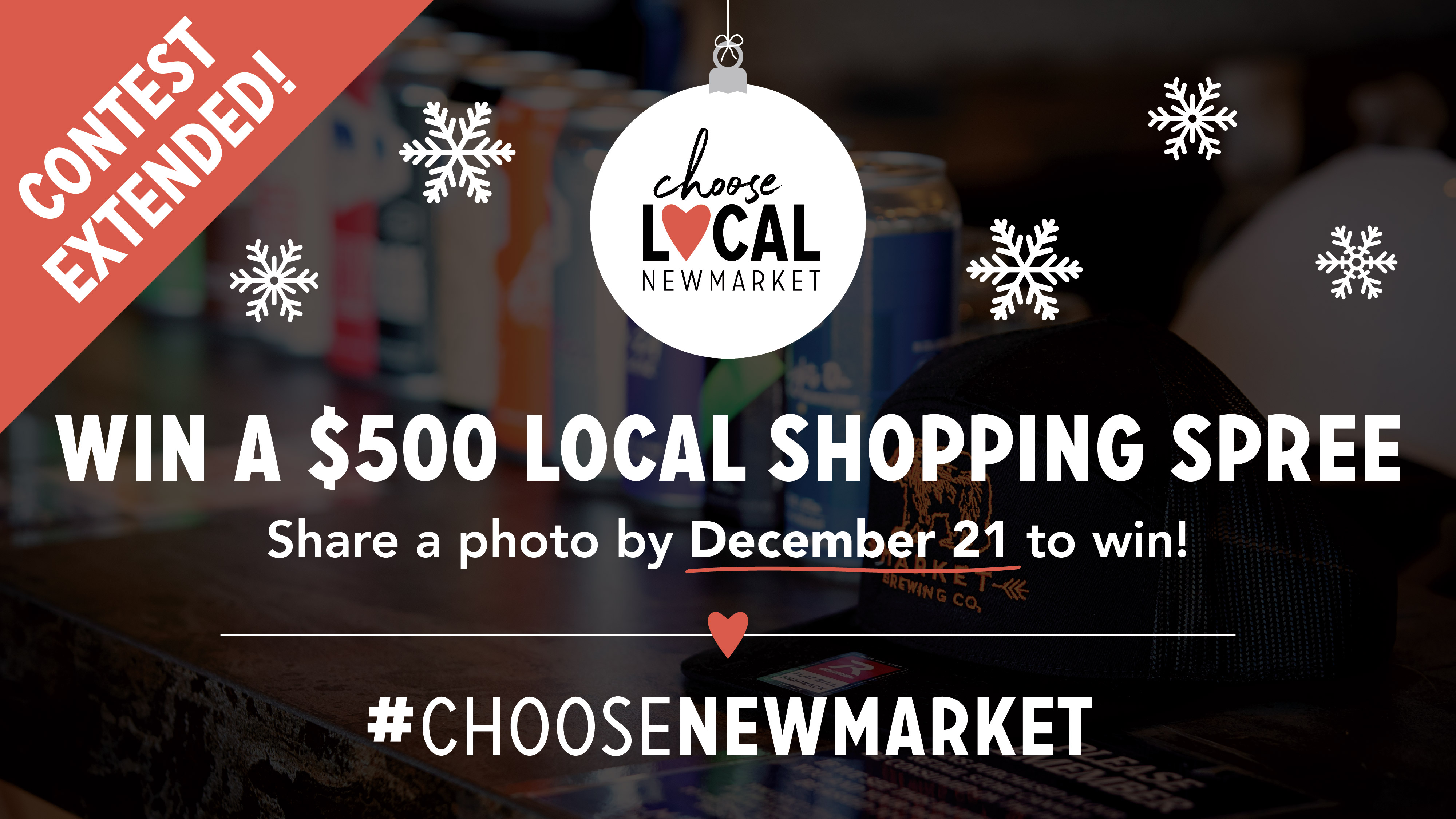 Image of Choose Local Contest Extended