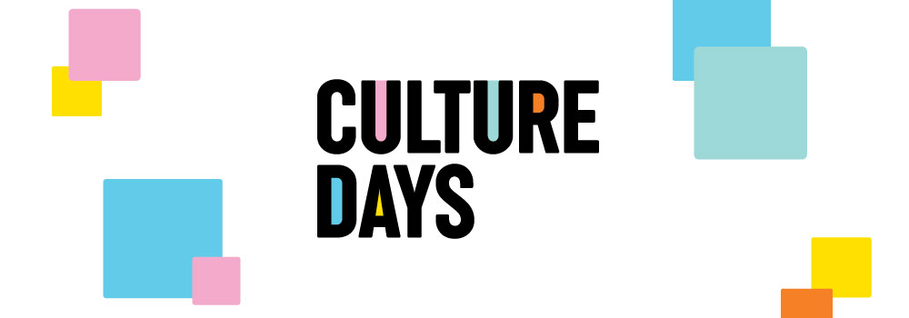 graphic text image that reads clulture days