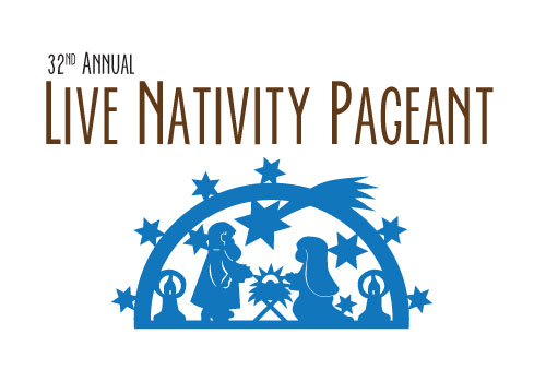 31st Annual Nativity Pagent Button