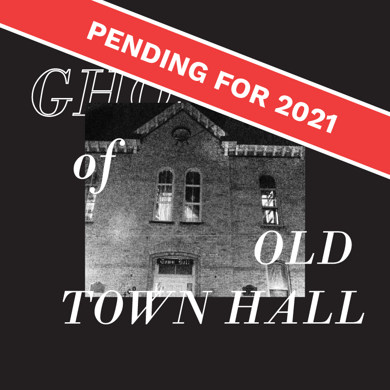 Ghost of Old Town Hall Button