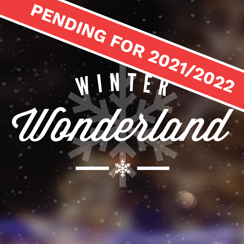 winter wonderland button