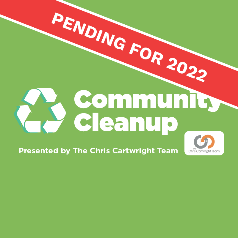 community cleanup button