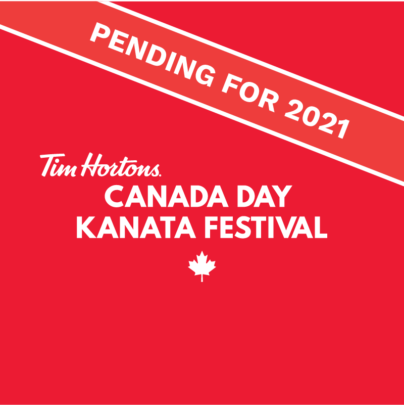 Tim Hortons Canada Day Kanata Festival button