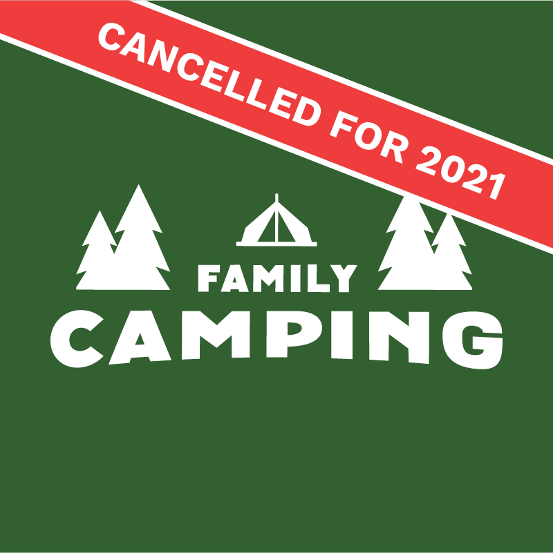 Family Camping Button