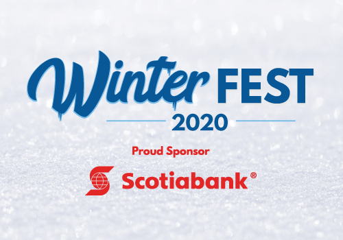 Winterfest 2019 Sponsored by Scotiabank Button