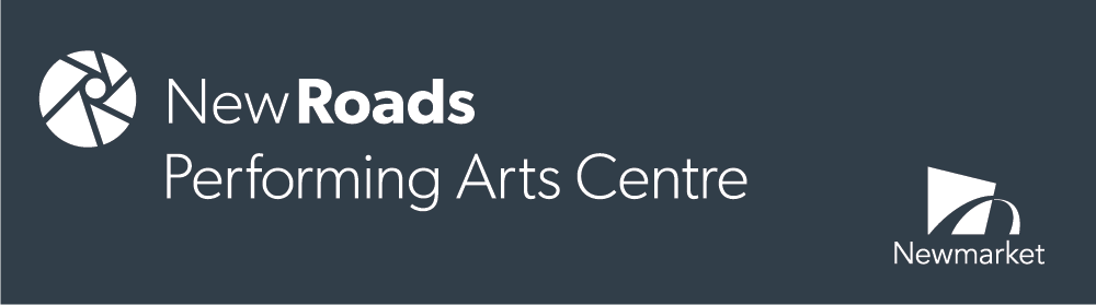 new roads performing arts centre banner