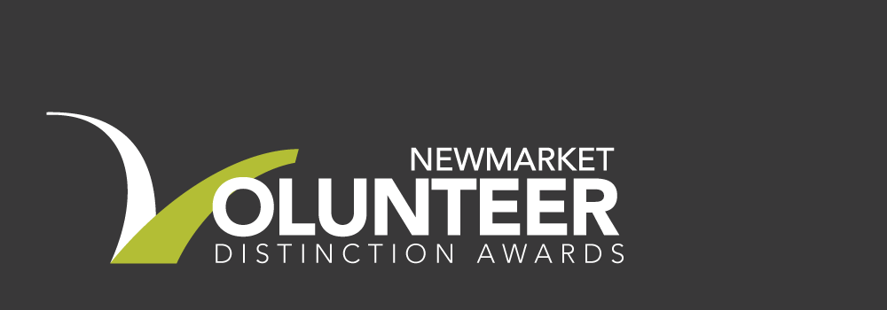 image that reads Newmarket Volunteer Distinction Awards